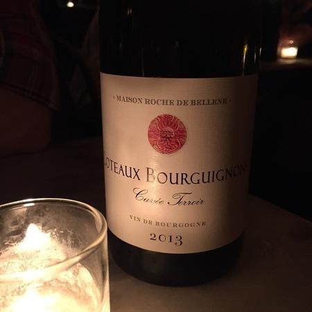 Maison Roche de Bellene Cuvée Terroir Coteaux Bourguignons Gamay Pinot Noir 2013