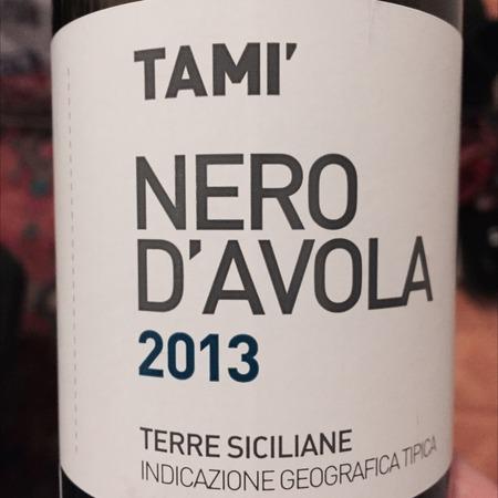 Tami' Terre Siciliane Nero d'Avola 2016