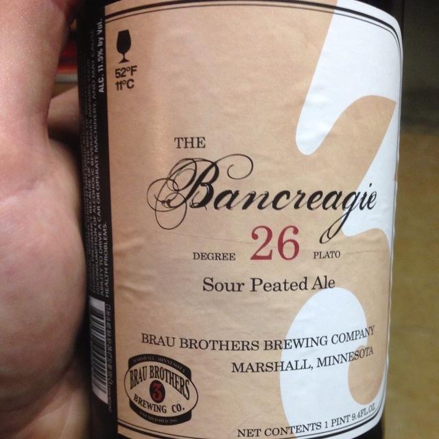 The Bancreagie Sour Peated Ale NV