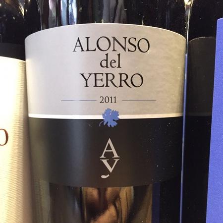 Alonso del Yerro Ribera del Duero Tempranillo 2011