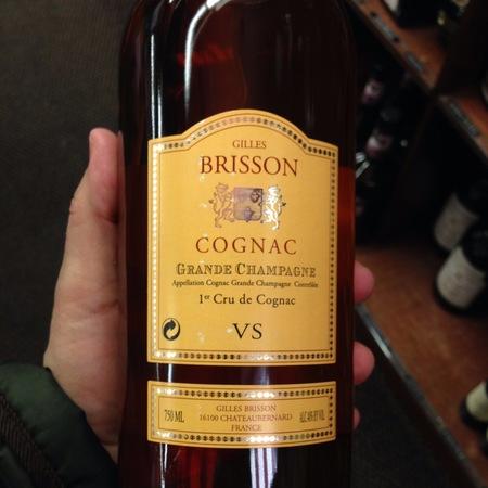 Gilles Brisson VS Grande Champagne Cognac  NV