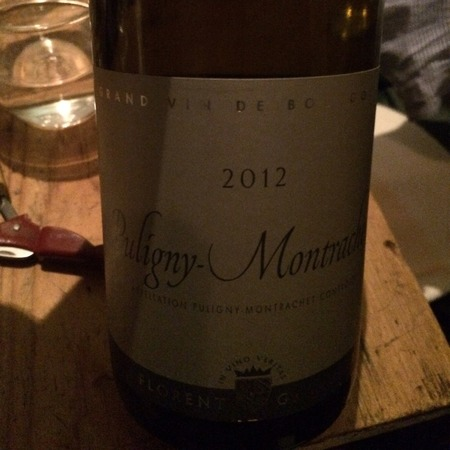 Florent Garaudet Puligny-Montrachet Chardonnay 2012
