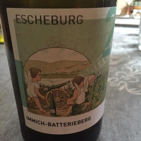 Immich-Batterieberg Escheburg Riesling 2014