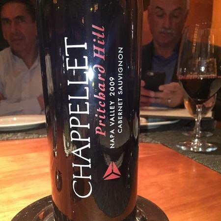 Chappellet Pritchard Hill Estate Vineyard Cabernet Sauvignon 2013