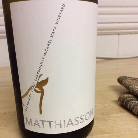 Matthiasson Michael Mara Vineyard Chardonnay 2013