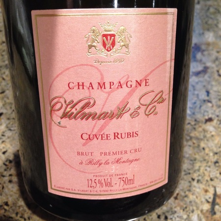 Vilmart & Cie Cuvée Rubis 1er Cru Brut Rosé Champagne NV
