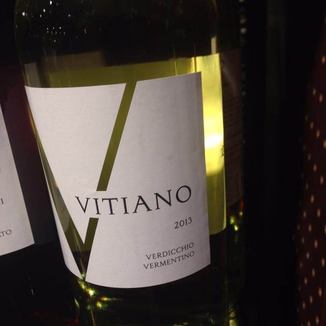 Vitiano Bianco Umbria Verdicchio Vermentino 2015