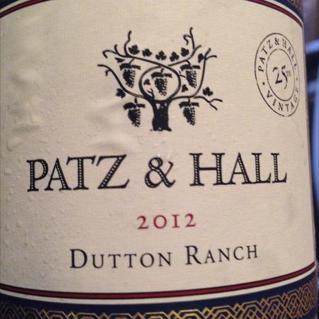 Patz & Hall Dutton Ranch Chardonnay 2014