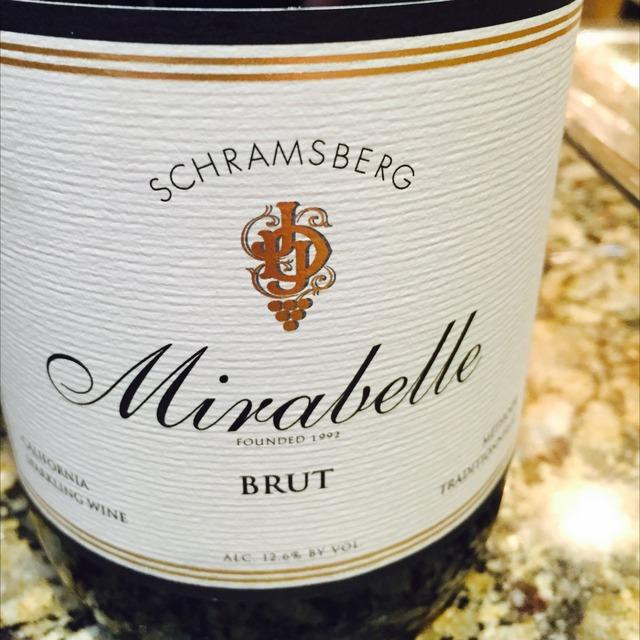 Mirabelle Brut California Chardonnay Pinot Noir NV