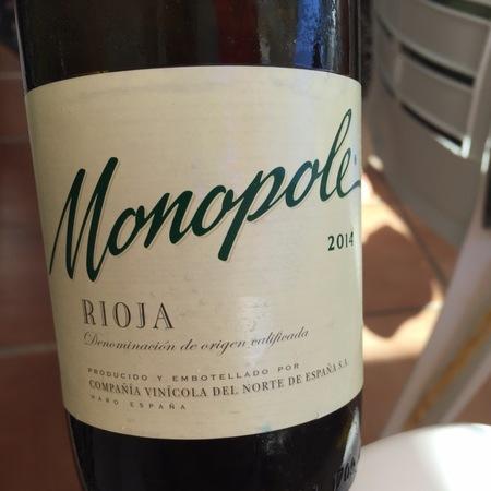 C.V.N.E. (Compañía Vinícola del Norte de España) Monopole Rioja Blanco Viura 1981 (375ml)