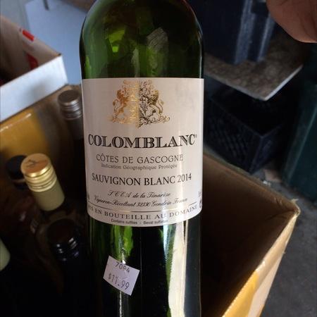 Domaine des Cassagnoles Colomblanc Côtes de Gascogne Sauvignon Blanc 2014
