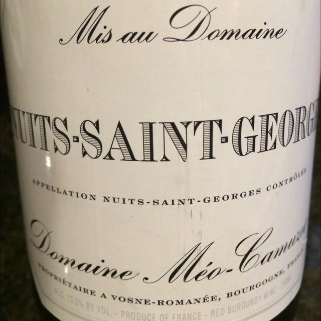 Nuits-Saint-Georges Pinot Noir 2013