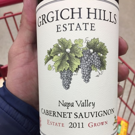 Grgich Hills Estate Estate Grown Napa Valley Cabernet Sauvignon 2013