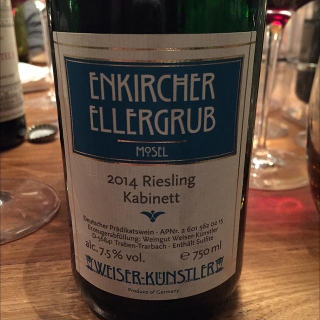 Enkircher Ellergrub Kabinett Riesling 2014