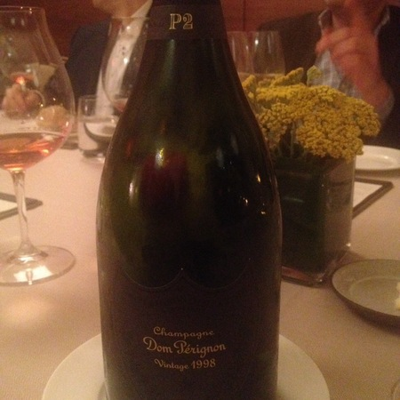 Moët & Chandon P2 Second Plentitude Dom Perignon 1998