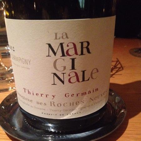 Domaine des Roches Neuves (Thierry Germain) La Marginale Saumur-Champigny Cabernet Franc 2012