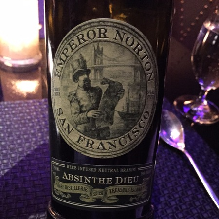 Raff Distillerie Emperor Norton Absinthe Dieu Brandy NV