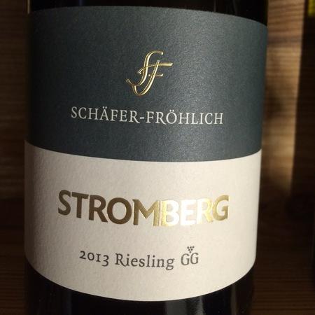 Schäfer-Fröhlich Stromberg Großes Gewächs Riesling 2015