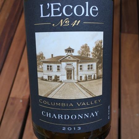 L'Ecole No. 41 Columbia Valley Chardonnay 2013