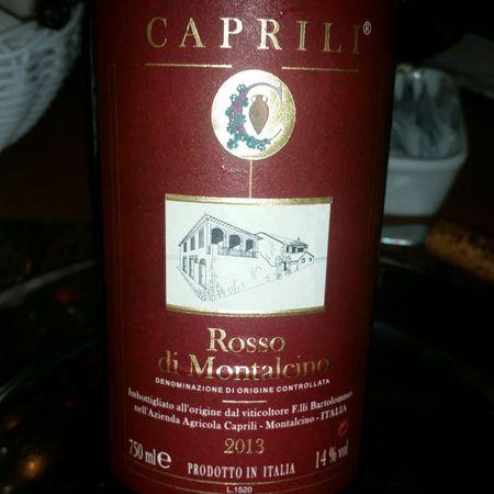 Caprili Rosso di Montalcino Sangiovese 2013