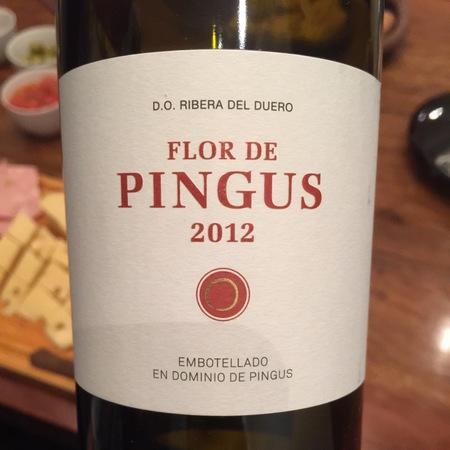 Dominio de Pingus Flor de Pingus Ribera del Duero Tempranillo 2012