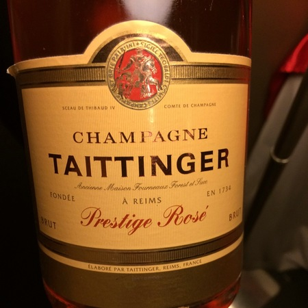 Taittinger Prestige Rosé Brut Champagne Pinot Noir Chardonnay NV