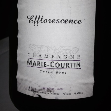 Marie Courtin Efflorescence Extra Brut Champagne Pinot Noir 2013