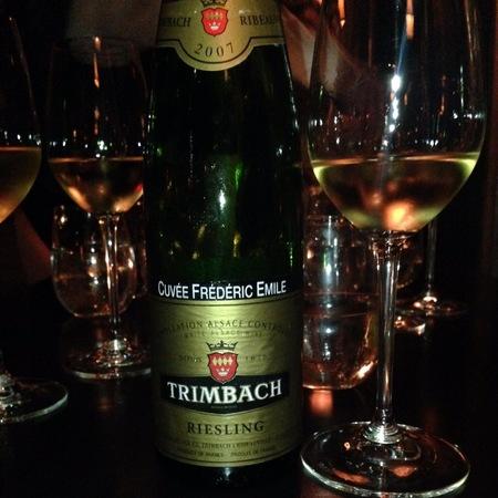 Trimbach Cuvée Frédéric Emile Alsace Riesling 2007
