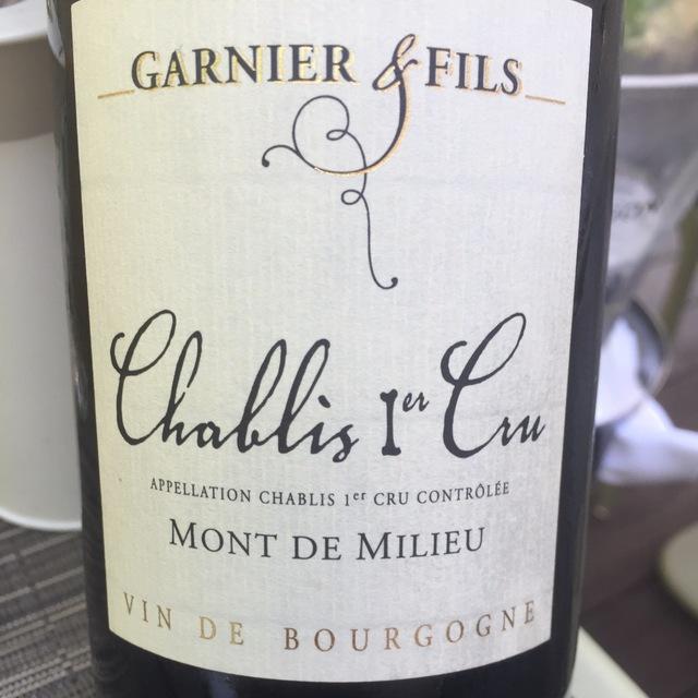 Mont de Milieu Chablis 1er Cru Chardonnay 2014