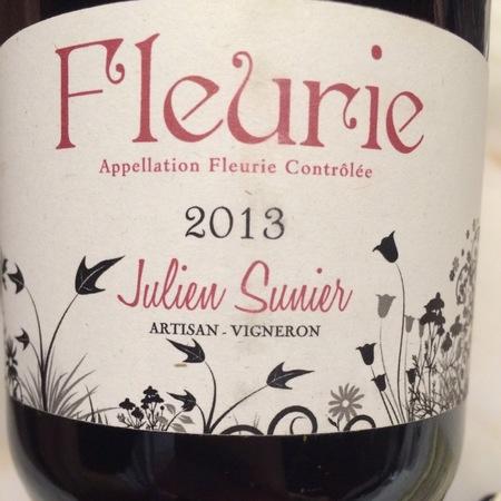 Julien Sunier Fleurie Gamay 2016