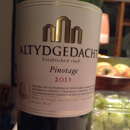 Altydgedacht Pinotage 2013