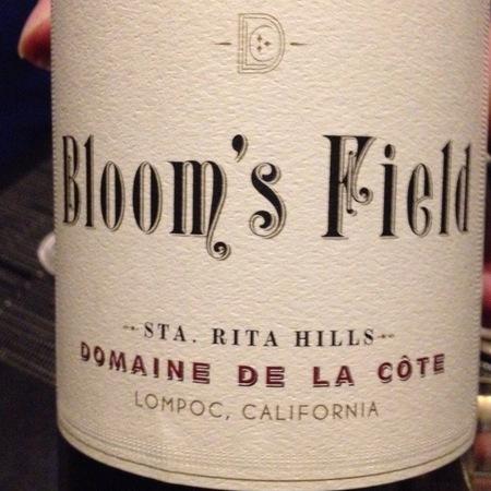 Domaine de la Côte Bloom's Field Pinot Noir 2014