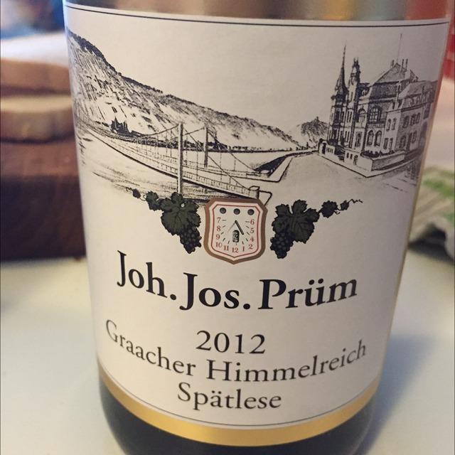 Graacher Himmelreich Spätlese Riesling 2012