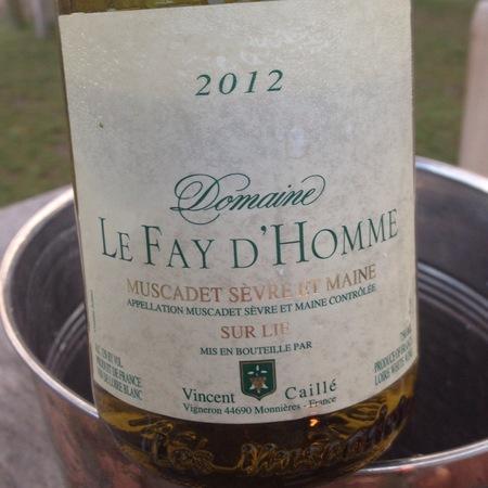 Domaine Le Fay d'Homme Muscadet Sèvre-et-Maine Sur Lie Melon de Bourgogne