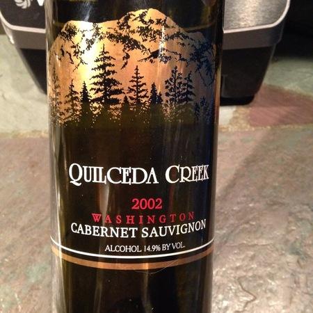 Quilceda Creek Washington Cabernet Sauvignon 2002