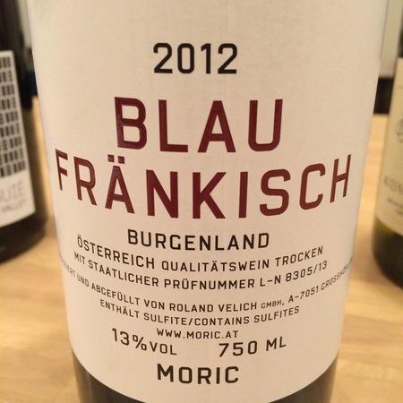 Moric Burgenland Blaufränkisch 2015