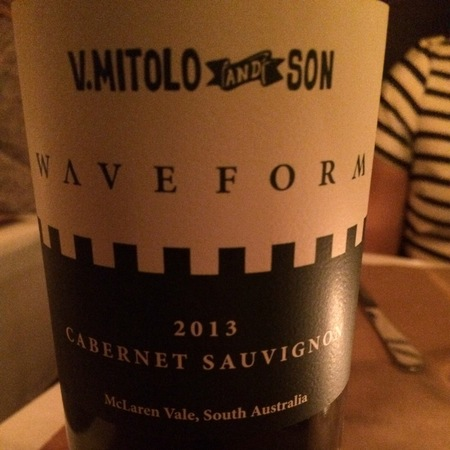 V. Mitolo and Son Waveform McLaren Vale Cabernet Sauvignon 2013