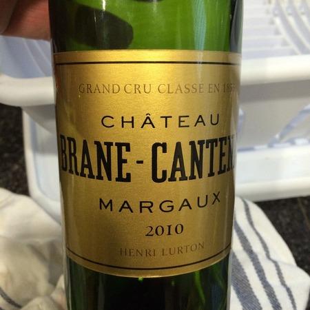 Château Brane-Cantenac Margaux Red Bordeaux Blend 2010