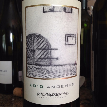 Maybach Family Vineyards Amoenus Cabernet Sauvignon 2014