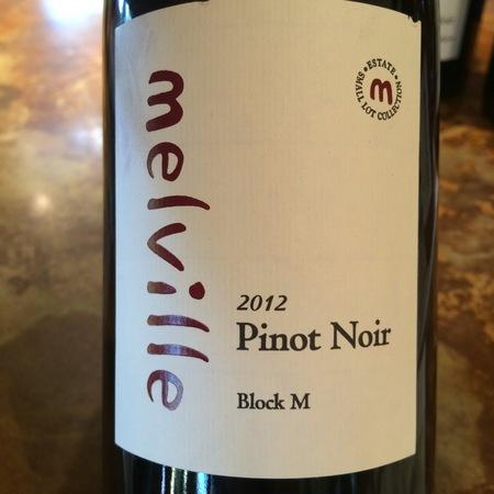 Melville Block M Sta. Rita Hills Pinot Noir 2014