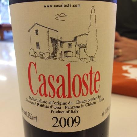 Casaloste Chianti Classico Sangiovese 2014