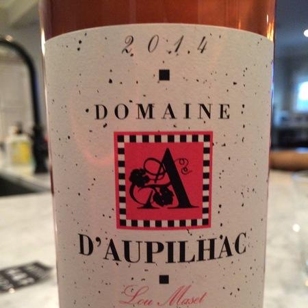 Domaine d'Aupilhac Lou Maset Languedoc Red Rhone Blend 2014