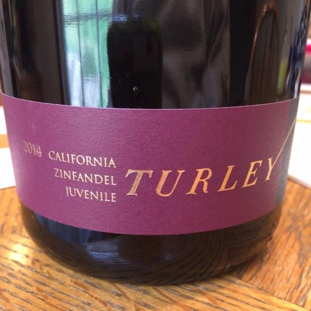Juvenile California Zinfandel  2014