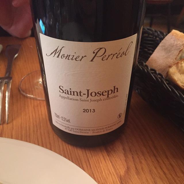 Saint-Joseph Syrah 2013
