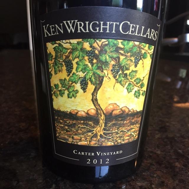 Carter Vineyard Pinot Noir 2015
