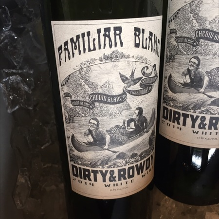 Dirty & Rowdy Familiar Blanc California White Blend 2016