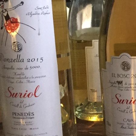 Suriol del Castell de Grabuac Donzella Penedes White Blend 2015