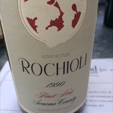 Rochioli Estate Grown Russian River Valley Pinot Noir 2014