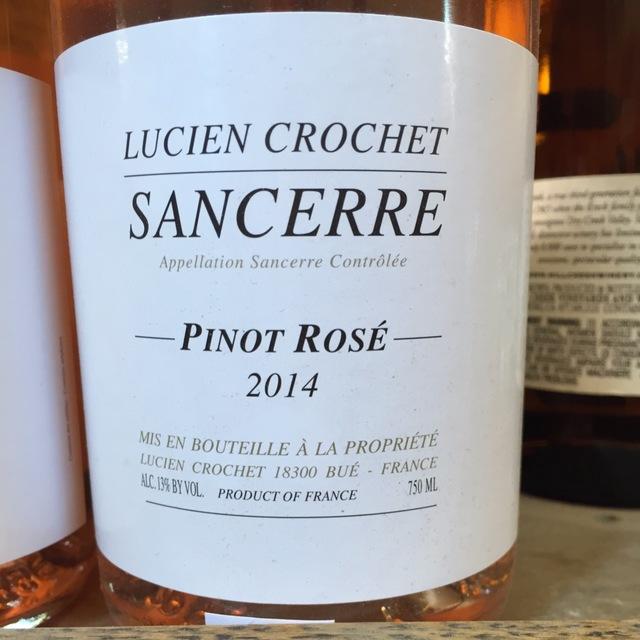 Sancerre Pinot Rosé 2014