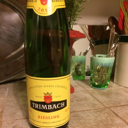 Trimbach Alsace Riesling 2012 (375ml)